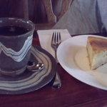 珈琲 悠 - チーズケーキ
