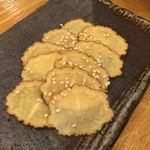 日本酒原価酒蔵 - いぶりがっこークリームチーズは別売だよ!
