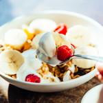 IVY PLACE - 朝食メニューはパンケーキ、グラノーラ、卵料理をベースに季節によっていろいろな料理が加わります。スムージなども人気メニュー