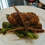 たつみ - 鶏もも肉とポルチーニのブランケット