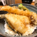 博多漁家 磯貝 - 天丼セット