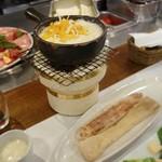 横浜チーズカフェ - 炭火チーズフォンデュ