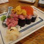 魚久 - のっけ寿司