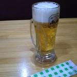 酒ぐい - 生ビール