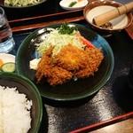 ふらい亭 - ミックスフライ定食