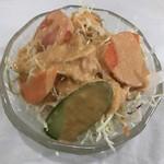 ニューマハール - レディースセットのサラダ