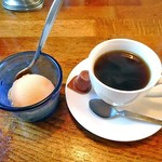 レストラン寿楽 - 「ミックス」のデザート & コーヒー