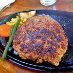 レストラン寿楽 - 「ハンバーグ」のメイン