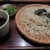 信濃庵  - 料理写真:寒いけどざるそば