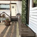 カフェ ガーランド - 鶴林寺南の住宅街の「お家カフェ」です(2018.1.8)