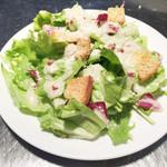 生パスタ専門店センプレ - 有機野菜のサラダ