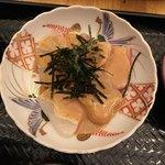 なるたけ - 美味しかった鯛の胡桃醤油和え('18/01/08)