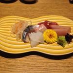 杜若 - 鮮魚造里盛り合わせ