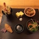 蕎麦 和 - 料理写真:寿セット