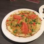 ネパール民族料理 アーガン - ミートチャタマリ480円