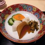 恵比寿 鰻 松川 - お新香