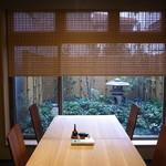 恵比寿 鰻 松川 - 個室も素晴らしい