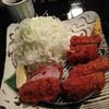 富士喜 - 料理写真:銘柄豚三種食べ較べ(ヒレ)1800円