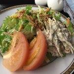 ホテルグリーンヒル レストラン カメリア - 野菜サラダ