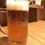 びっくりドンキー - ドンキーオーガニックビール<生>中 797円。