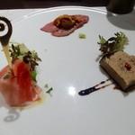 燕三条イタリアンBit - 前菜盛り合わせ