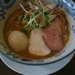 79120308 - バリ鰹らーめん780円+味玉(サ券)