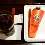 サンマルクカフェ - サンマルクカフェ@溝の口店 モーニングのチョコクロセット(313円)