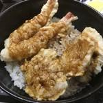 魚彩 銀の鯛 - 海老、野菜、鯛の天ぷら
