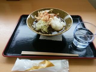 波の華 食事コーナー - 「越前おろし蕎麦」
