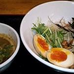 ジャンキー - 【つけ麺 + 煮玉子】¥800 + ¥100