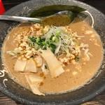濃厚つけ麺 まる家 - 鶏胡麻豆乳麺(並)