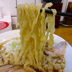 くじら食堂 - 醤油・大盛(720円)