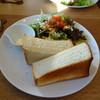 Pamporukaabekkukafe - 料理写真:モーニング トーストセット