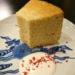 庭園カフェ 桔梗の間 - 料理写真:シフォンケーキ400円