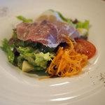Fleur - パルマ産生ハムといろどり野菜サラダ