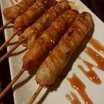 全席個室居酒屋 京の町に夢が咲く - 鶏もも串焼
