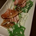全席個室居酒屋 京の町に夢が咲く - 鴨のカルパチョ