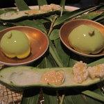 7913113 - 嘉助特製季節野菜の豆腐