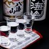 魚 野菜 酒 しゃばらむ - ドリンク写真:飲み比べセット