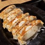 麺や かず - 焼き餃子セット(6ケ)
