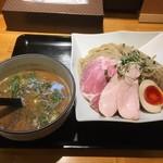 麺処 飯田家 - 料理写真:ベジポタ鶏白湯つけ麺[crema]大盛+味玉
