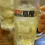 本陣串や - ブラックニッカハイボール(190円)