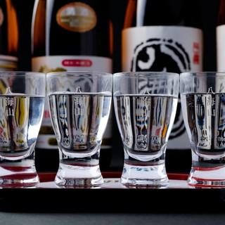 日本酒は「八海山」のみ!名古屋トップクラスの品揃えです。