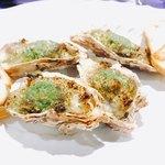 パセット - 殻付カキのオーブン焼き