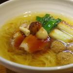 ラーメン 巌哲 - 料理写真:塩鴨なんば