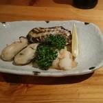 たぬき - 焼き牡蠣