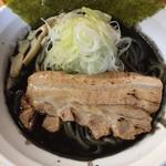 麺処なかがわ - ごま辛ラーメン黒¥850
