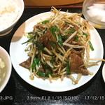 79134051 - レバニラ炒め
