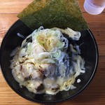 麺処なかがわ - 坦々まぜそば(黒)¥850+チーズ¥100