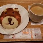 ドンク・ミニワン - ブレンドコーヒーとともに